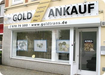 Goldtrans Goldankauf Hamburg