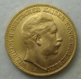 20 Goldmark Kaiser Wilhelm II von Preußen