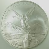 Mexiko Libertad Siegesgöttin 5 Oz Silber 2010