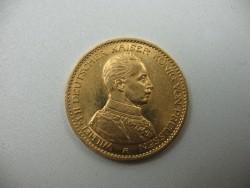 20 Goldmark Kaiser Wilhelm II von Preußen in Uniform