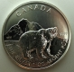Kanada Wildlife Series Grizzly Bear 1 Oz Silber 2011
