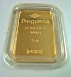 5 Gramm Goldbarren Degussa