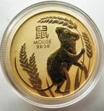 1 Oz Goldmünze Australien Lunar III Maus