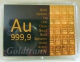 Goldtafel Tafelbarren - CombiBar 20 x 1 Gramm