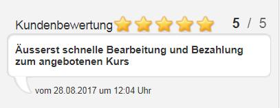 Goldankauf Hamburg Kunden Erfahrungen