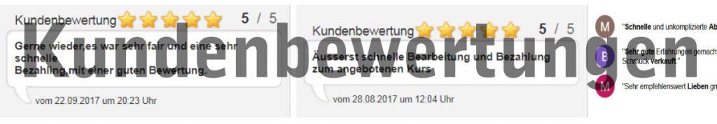 Goldankauf Hamburg-Kunden Erfahrungen