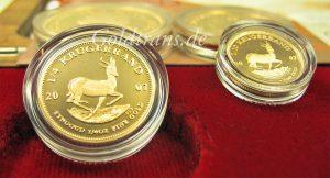 Krügerrand Goldmünze verkaufen