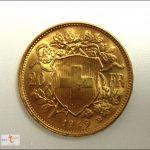Schweizer Vreneli Gold